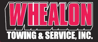 whealon towing logo
